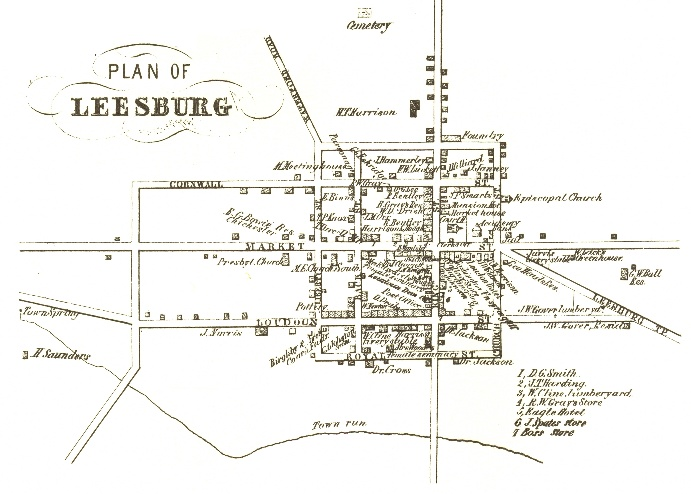 antebellum leesburg 1814 1860 leesburg va