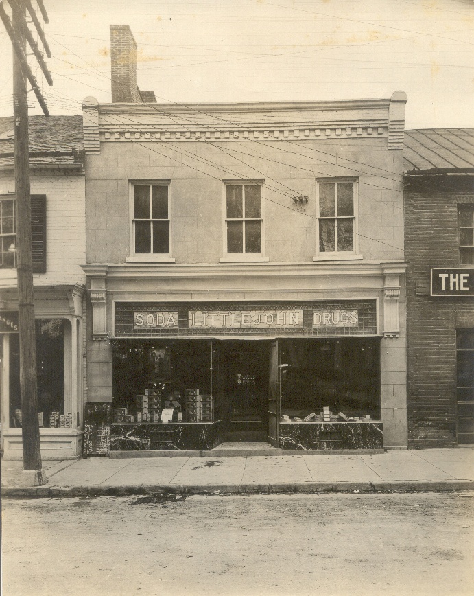 Exterior of Littlejohn Drug Store