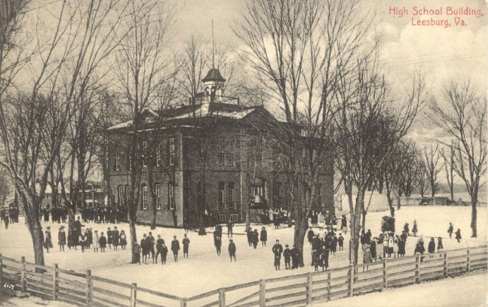 Leesburg High School, ca. 1915