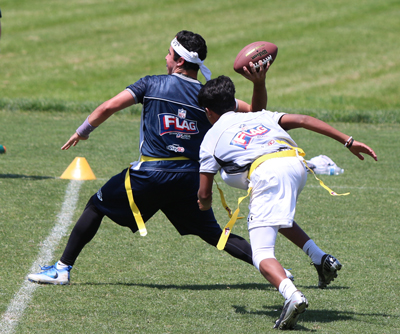 NFL Flag Football game