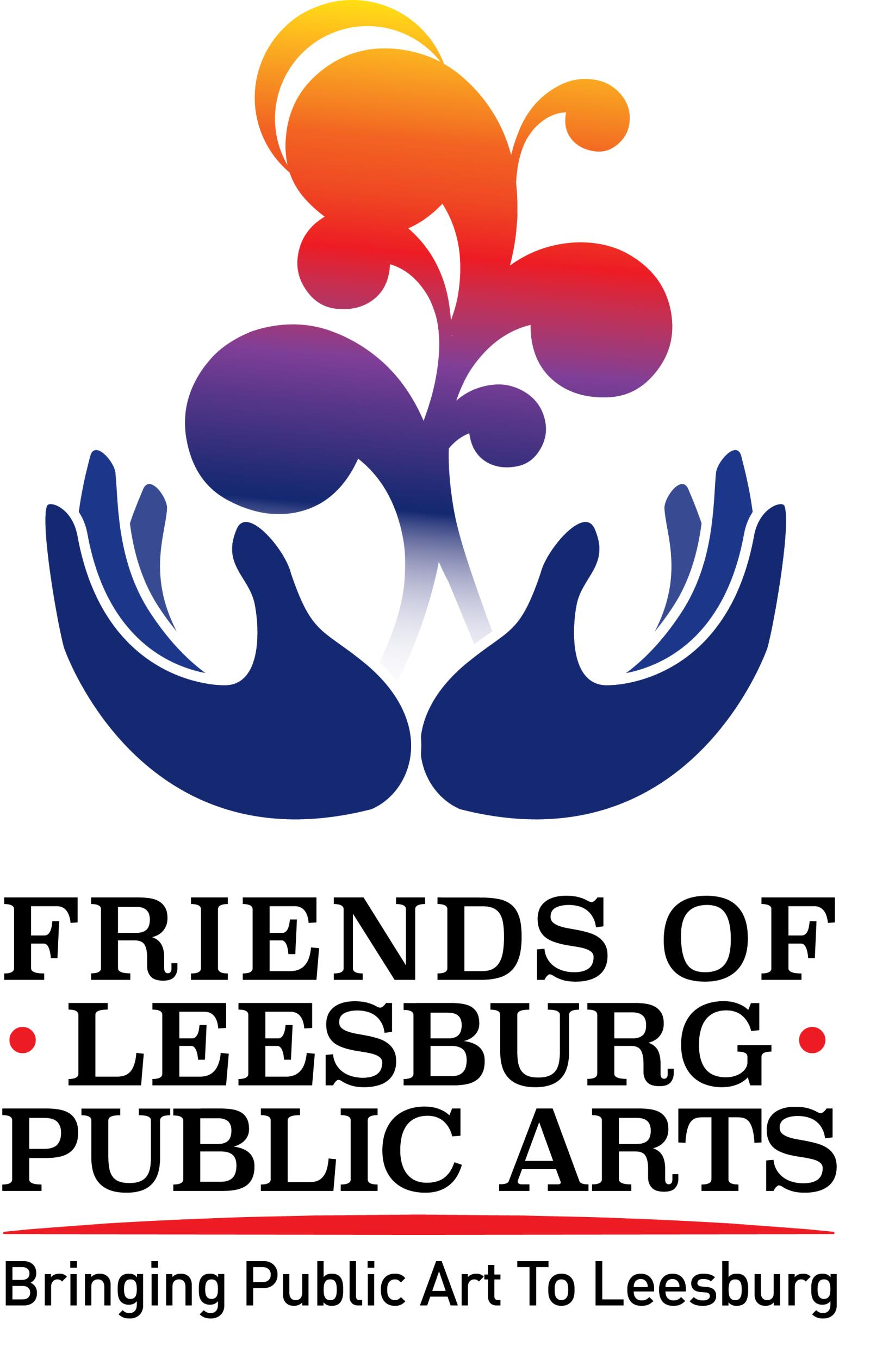 Friends of Leesburg Public Arts logo