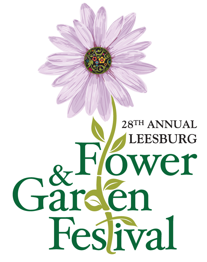 2018 Flower and Garden Festival logo