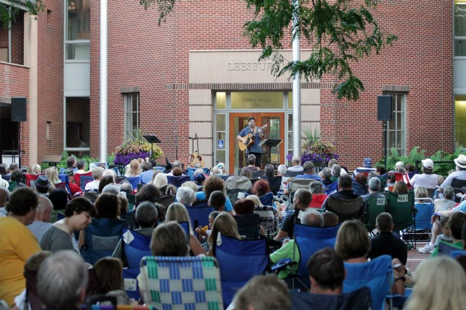Gary Smallwood performs at Acoustic on the Green (photo courtesy of Ed Solomon)