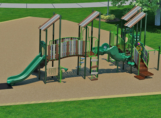 Foxridge Park Selected as National Demonstration Site for Universal Design Playgrounds