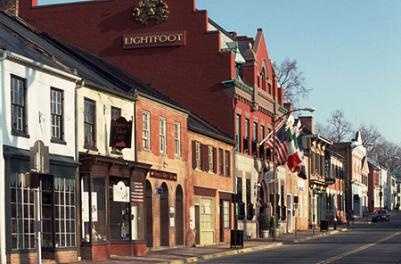 Downtown Leesburg Businesses (King Street)