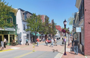 Downtown Improvements King St Rendering