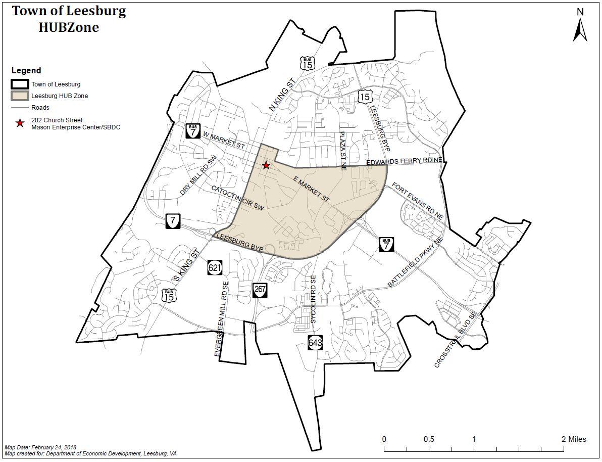 Hubzone Leesburg Va