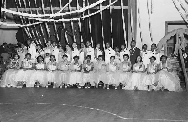 Douglass High School graduating class, ca 1950