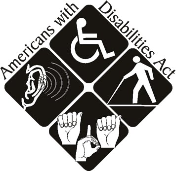 Americans with Disabilities Act symbols