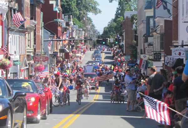 Independence Day Parade on King Street