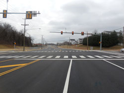 Sycolin Road Widening Ph III Complete