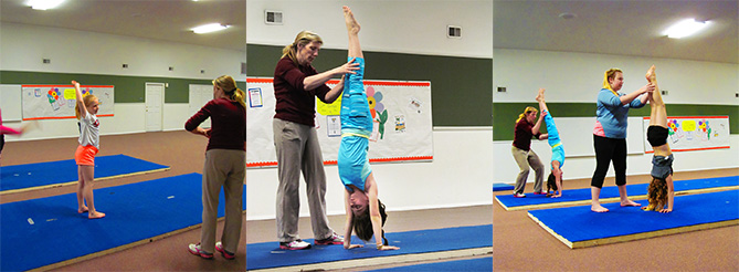 Gymnastics Collage
