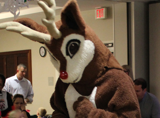 Rockin' with Rudolph