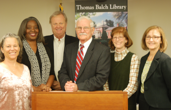 Thomas Balch Library Commission 2017