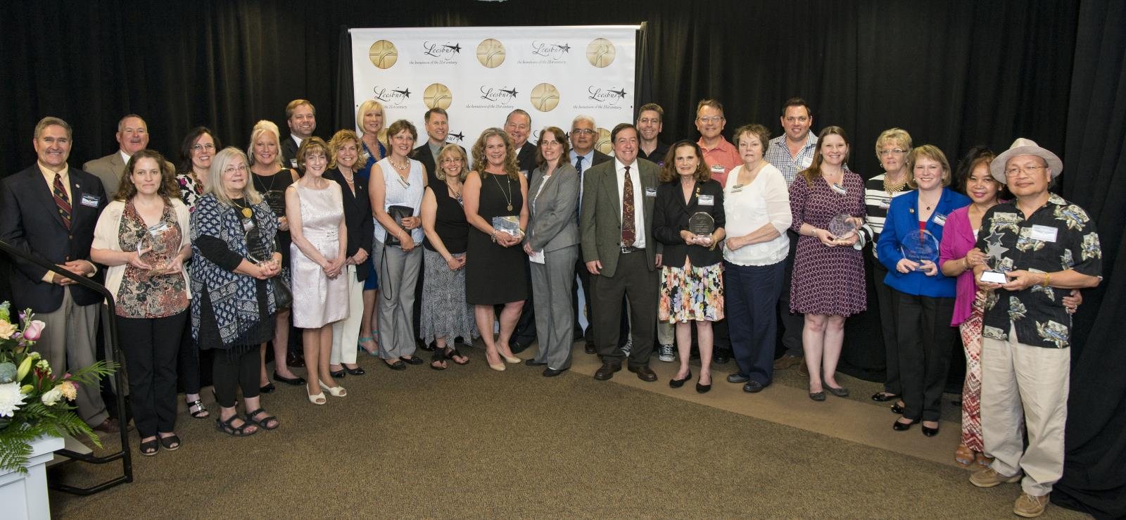2017 Leesburg Business Award Winners.