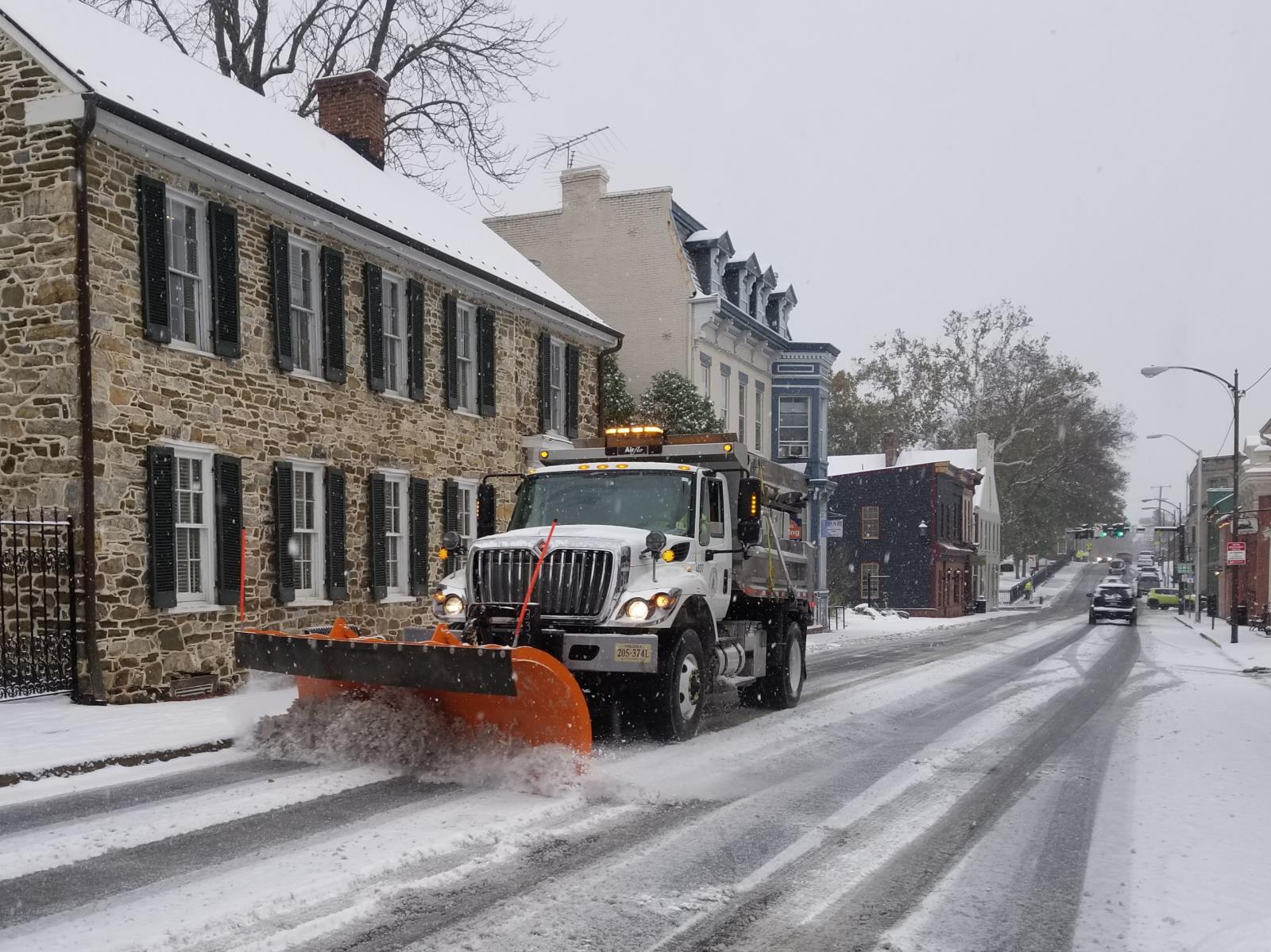 Leesburg Snow Emergency Routes Lifted at 7:00 p.m. Tonight