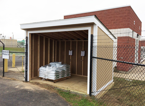 Distribution shed for Tuscarora Landscapers Choice