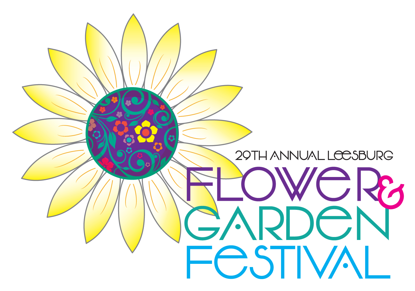 2019 Flower and Garden Logo