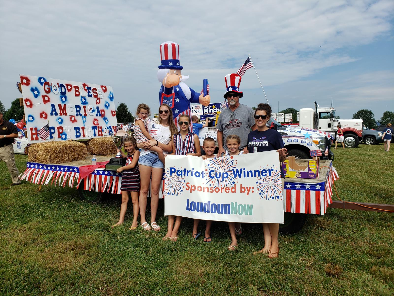 12th Annual Patriot Cup Awarded to Sjurseth Family