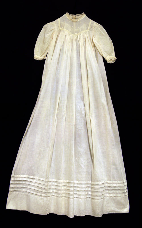 Handkerchief Linen Baby Dress, Charles A. Johnston Collection (M0098), Thomas Balch Library, Leesburg, VA