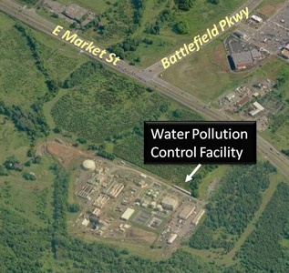 Water Pollution Control Facility Aerial