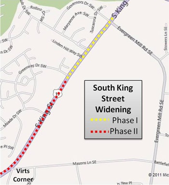 South King Street Widening