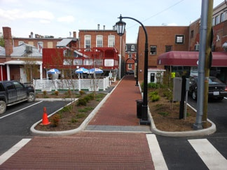 Downtown Improvements Alley Completed