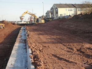 Miller Dr Ext Construction - 11/13