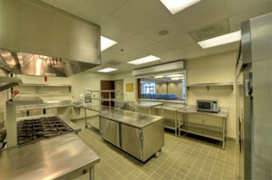 Social Hall Kitchen