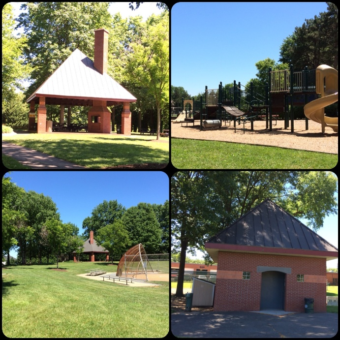 Fox Ridge Park Pavilion collage