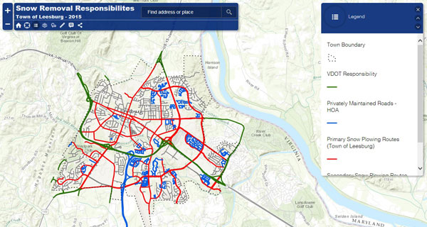 Snow Removal Interactive Map