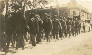 WWI Infantry Parade