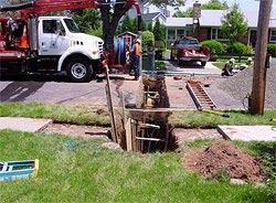 utility lines repair